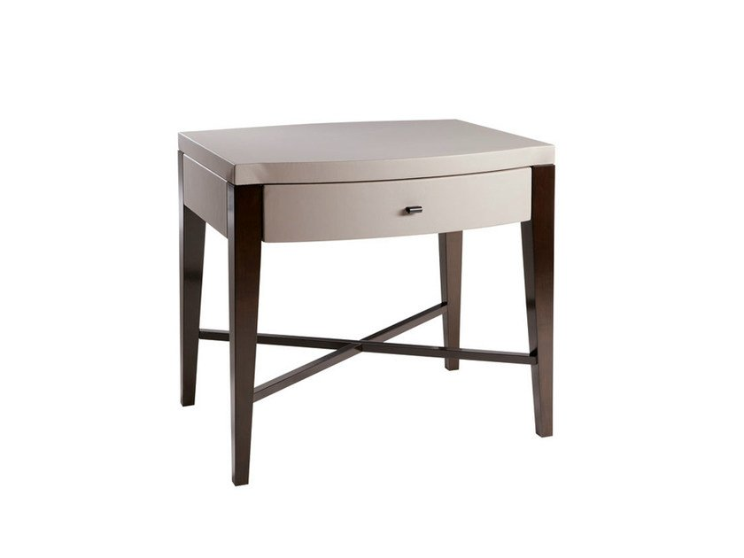 Wooden bedside table with drawers WALDORF | Bedside table by SELVA