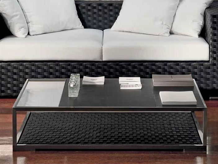 Low slate coffee table for living room DOMUS   Low coffee table by Dolcefarniente