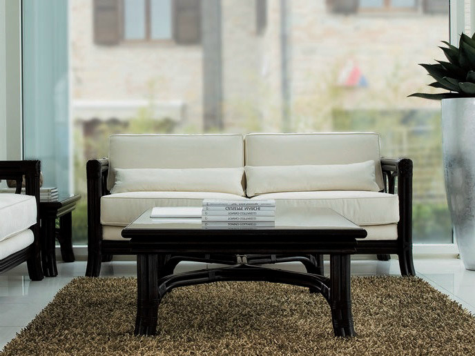 2 seater rattan sofa ARTÙ/N | 2 seater sofa by Dolcefarniente