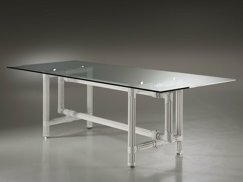 Rectangular crystal table GALASSIA   Table by Dolcefarniente