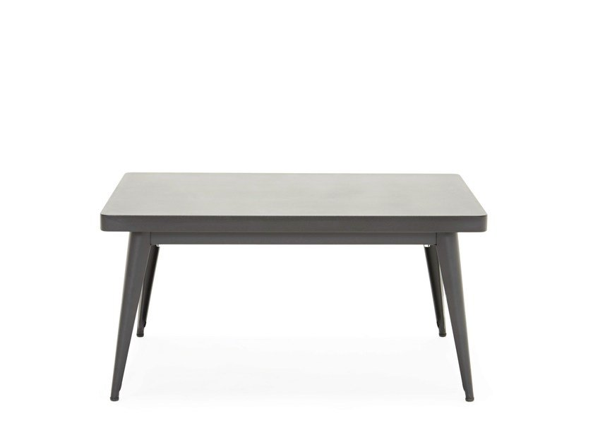 Low rectangular coffee table 55 | Low coffee table by Tolix