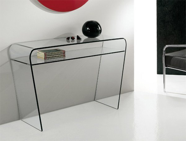Crystal console table SAPHIRIA   Console table by RIFLESSI