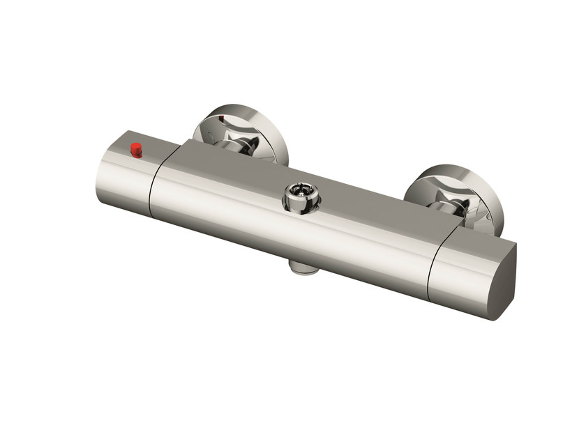 Chrome plated steel thermostatic shower mixer TSCI500   Thermostatic shower mixer by Gattoni Rubinetteria