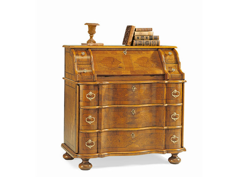 Wooden secretary desk MARIA THERESIA by SELVA