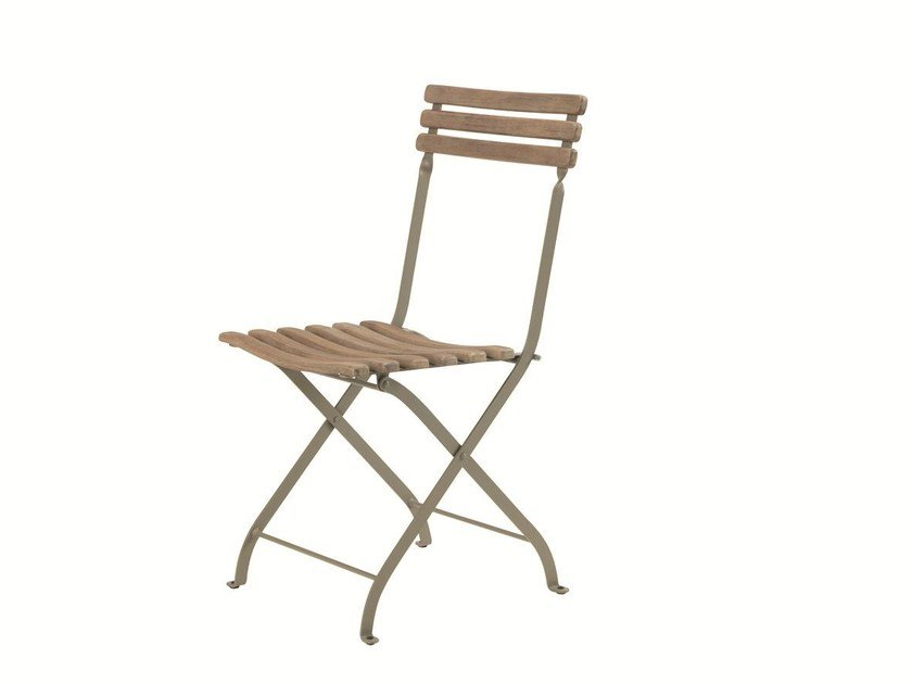 Folding teak garden chair LAREN | Folding chair by Ethimo