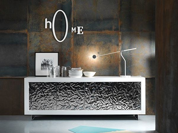 Wooden sideboard with doors PICASSO P12 MITO by RIFLESSI