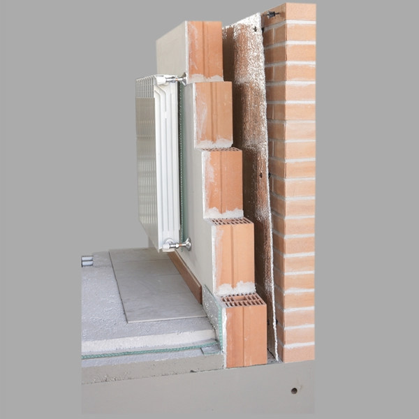 Aluminium thermal insulation felt THERMORADIANT by SA.M.E.
