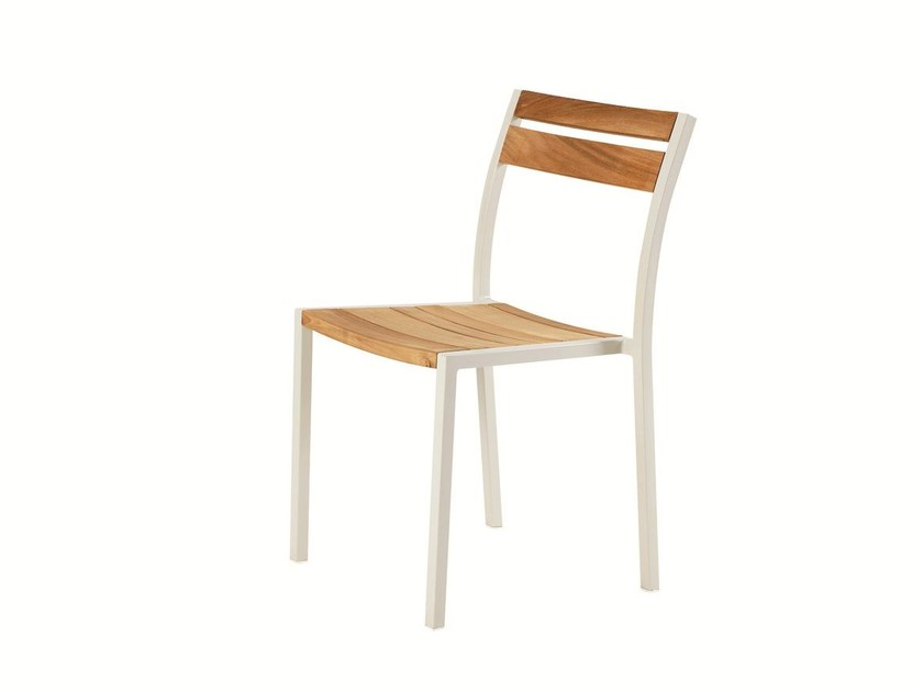 Stackable garden chair MERIDIEN | Garden chair by Ethimo