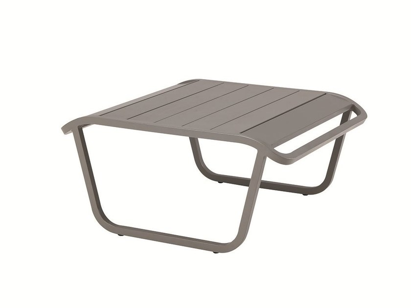 Low aluminium garden side table OCEAN | Garden side table by Ethimo