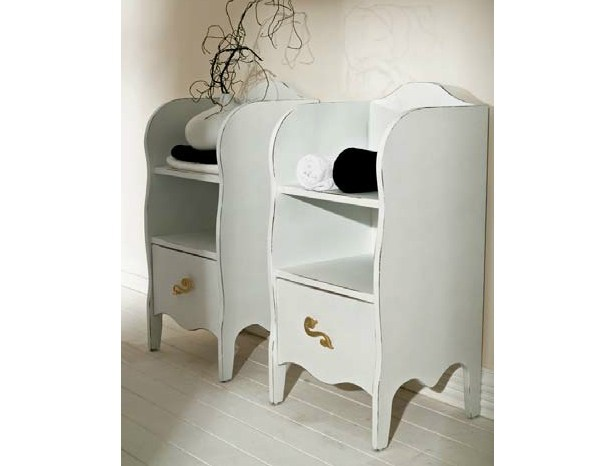 Classic style low bathroom cabinet with drawers BELLAGIO | Low bathroom cabinet by LASA IDEA