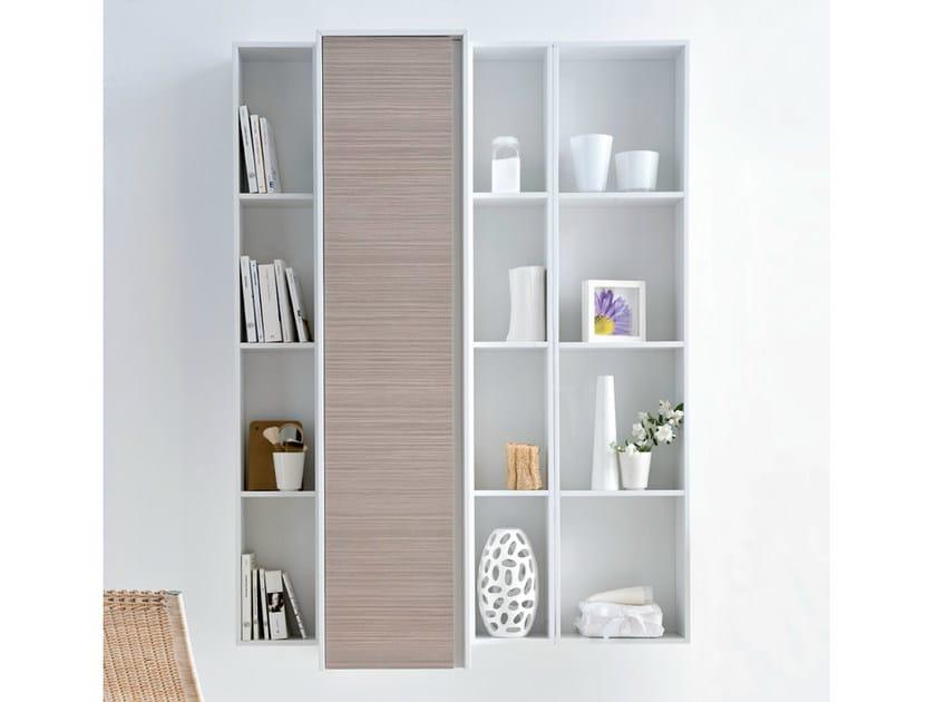 Open sectional bathroom cabinet METROPOLIS 13 | Bathroom cabinet by LASA IDEA