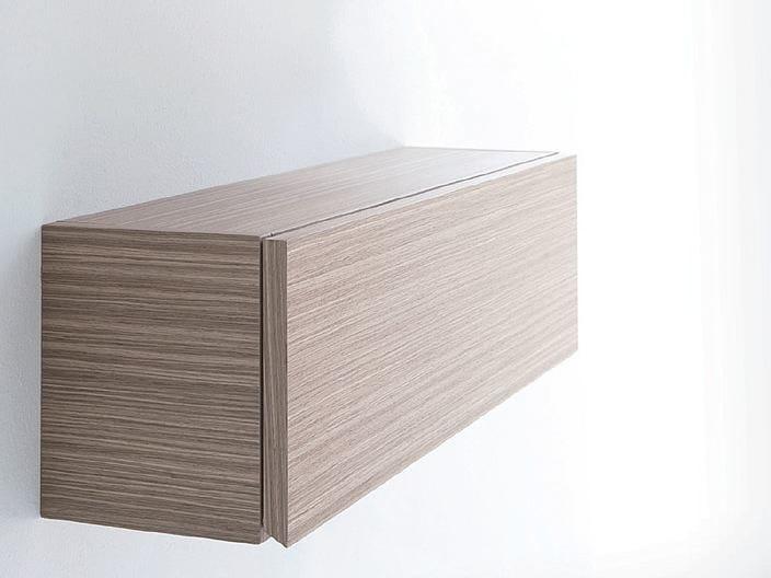 Wooden wall cabinet METROPOLIS 13 | Wall cabinet by LASA IDEA