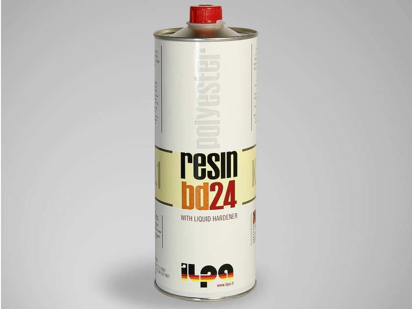Clear polyester-based resin for marble BD24 by ILPA ADESIVI