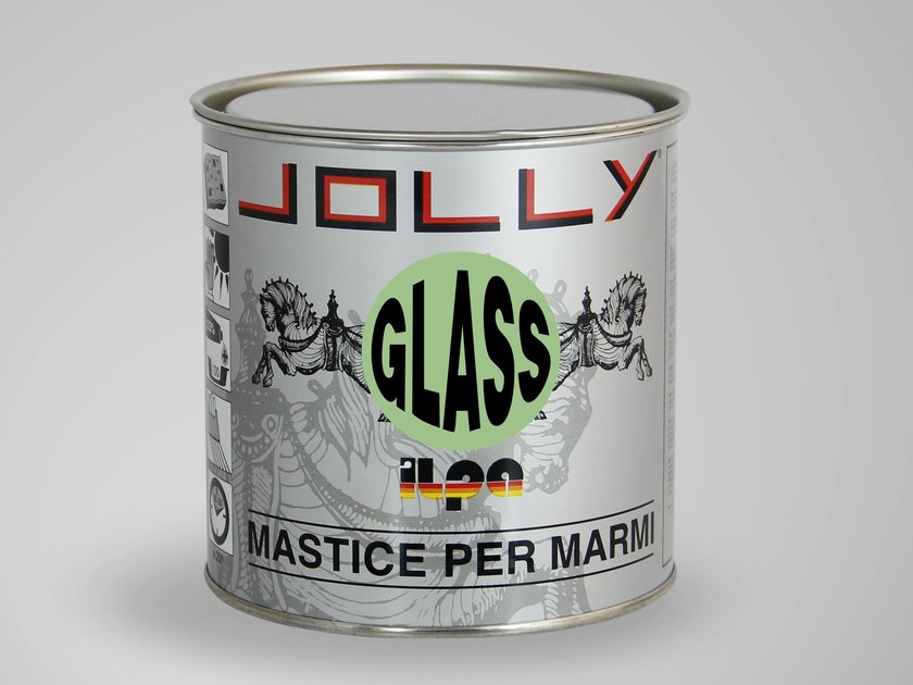 Mastic for marble JOLLY GLASS by ILPA ADESIVI