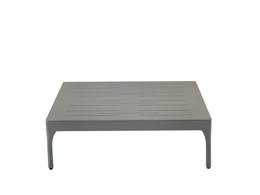 Low Square garden side table INFINITY   Square garden side table by Ethimo