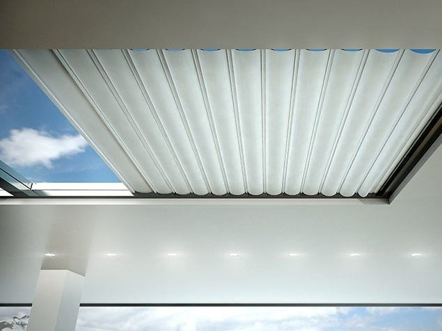 Electric fabric skylight shade SKYLIGHT by DIRELLO