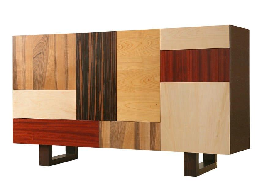 Wooden sideboard with doors FANTESCA | Sideboard by Morelato