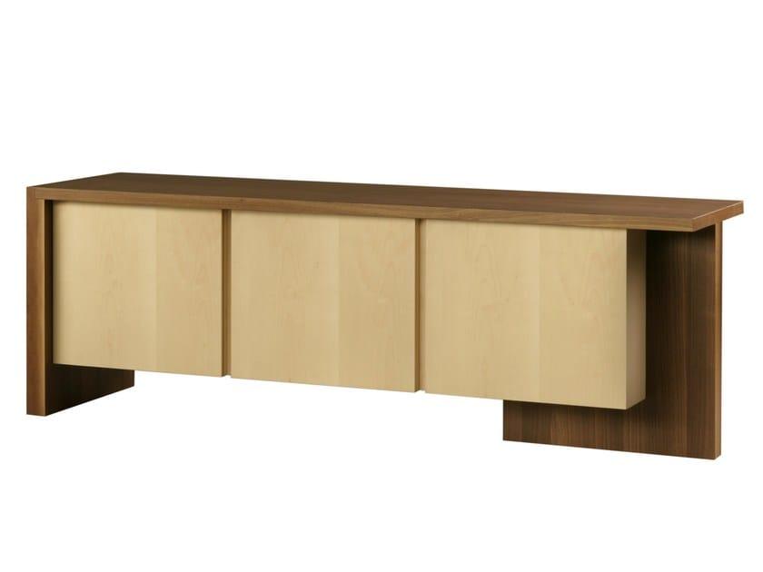 Wooden sideboard with doors CARTESIA   Sideboard by Morelato