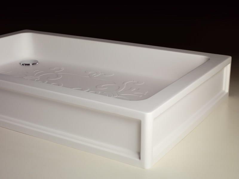 Anti-slip acrylic shower tray ARABESQUE by Devon&Devon