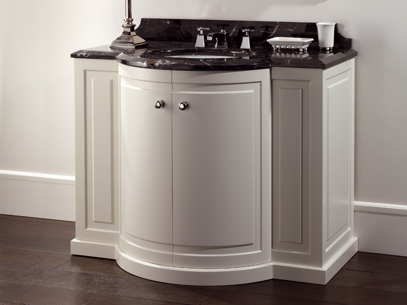 Mobile lavabo da terra in legno clarence by devon devon - Mueble lavabo pie ...