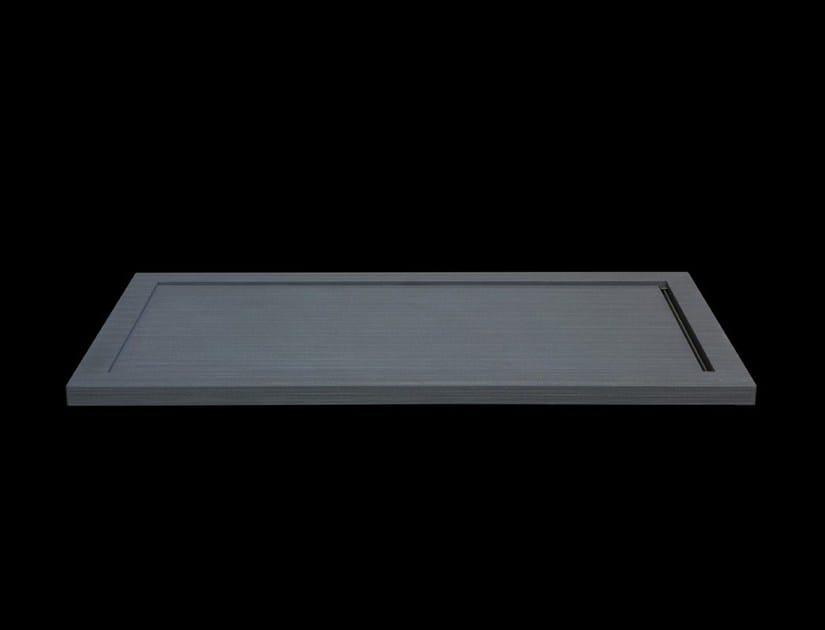 Quartz shower tray TEXTILE by RIFRA