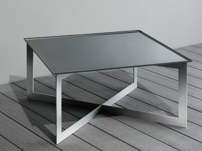 Rectangular steel coffee table SOFT | Rectangular coffee table by RIFRA