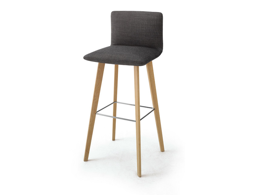 Barstool with back JALIS | Stool with back by COR