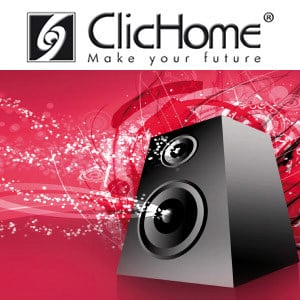 Sound and music amplification system AudioVideo Integration by Domotica ClicHome