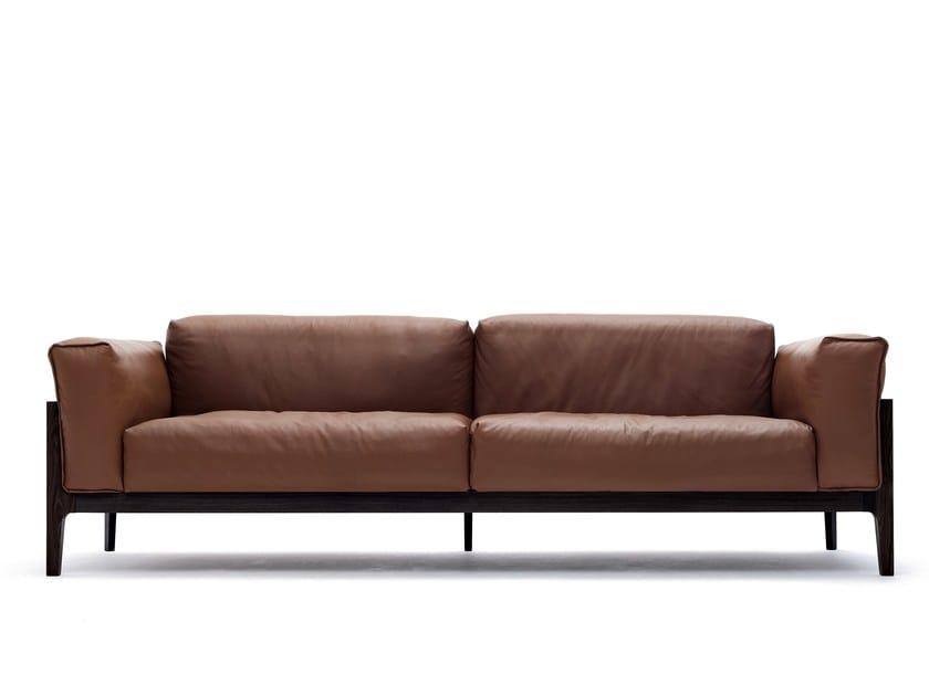 ELM | Leather sofa By COR design Jehs+Laub