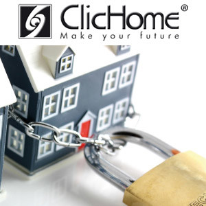 Home automation system for video surveillance SECURITY by Domotica ClicHome