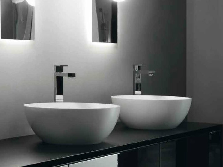 Countertop oval washbasin BOWL by RIFRA