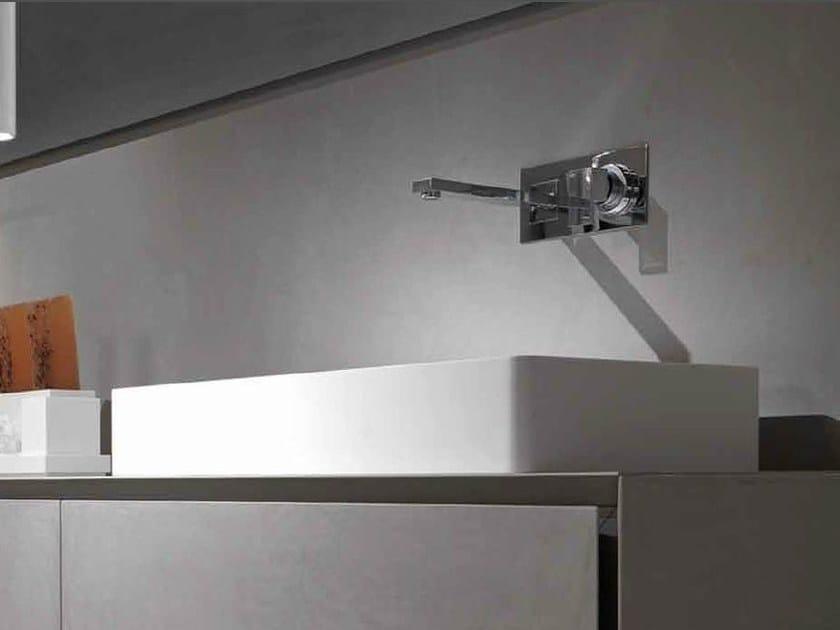 Countertop rectangular washbasin BOX by RIFRA
