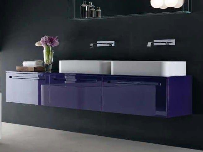 Countertop rectangular washbasin FLY   Washbasin by RIFRA