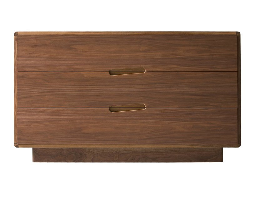 Walnut chest of drawers MALIBÙ | Chest of drawers by Morelato