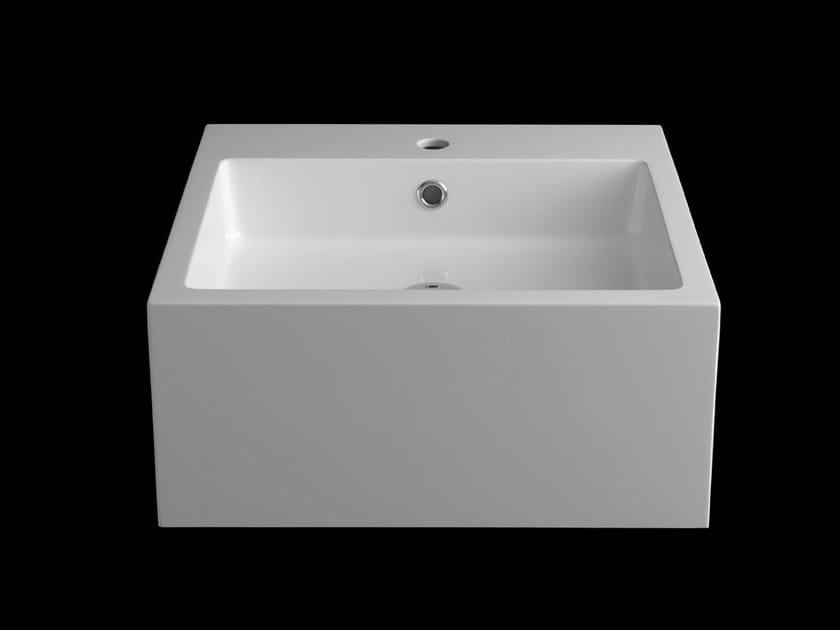 Semi-inset washbasin QUADRO by RIFRA