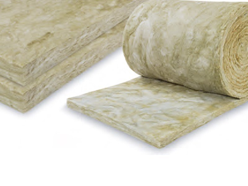Sound insulation and sound absorbing panel in mineral fibre URSA TERRA 76 by URSA