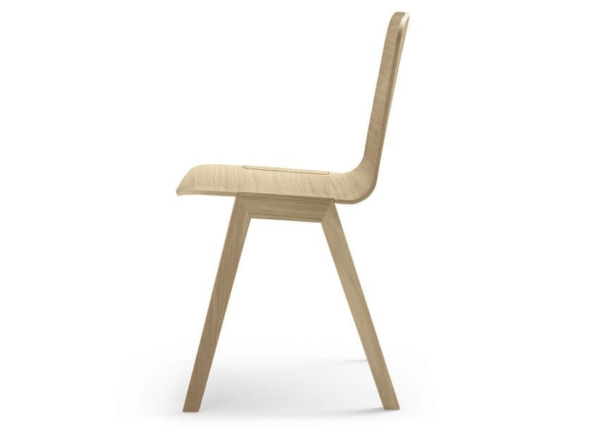 Sedia impilabile in legno ATAL | Sedia ALKI