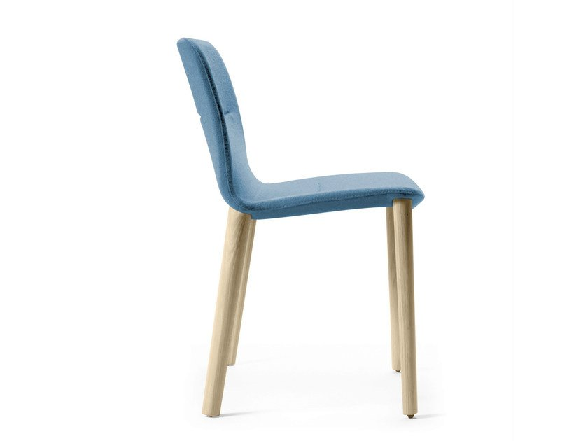 Stackable fabric chair with removable cover JANTZI | Fabric chair by ALKI