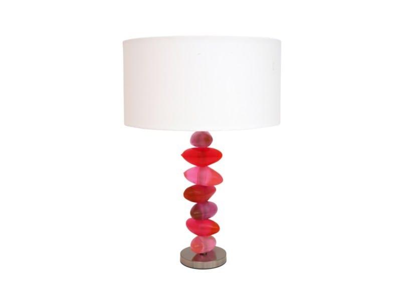 Resin table lamp ABIU | Table lamp by Darono