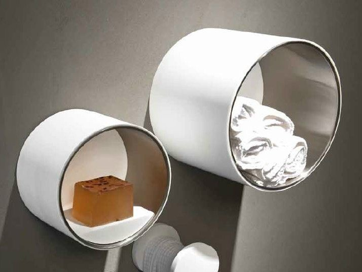 HI-MACS® towel rack CIRCLE | Towel rack by RIFRA