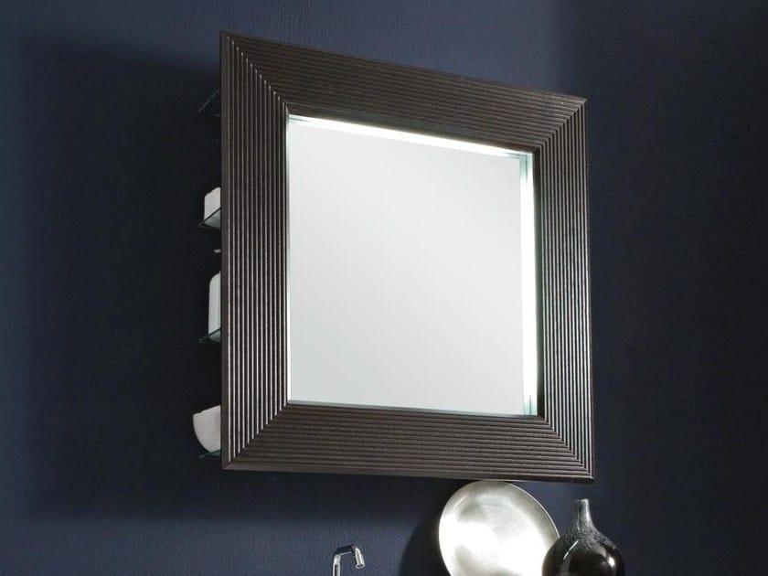 Bathroom mirror QUADRO by LASA IDEA