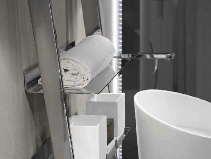 Column stainless steel bathroom cabinet CLEAN | Stainless steel bathroom cabinet by RIFRA