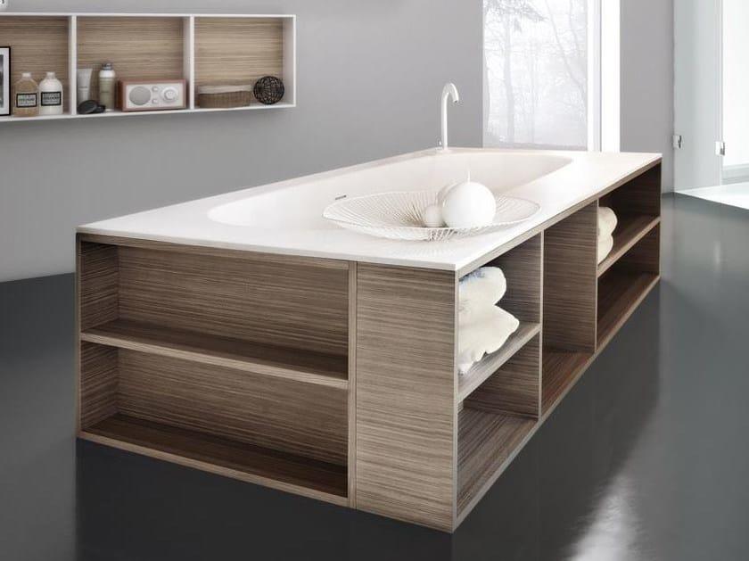 Freestanding rectangular bathtub MARIPOSA 50   Bathtub by LASA IDEA