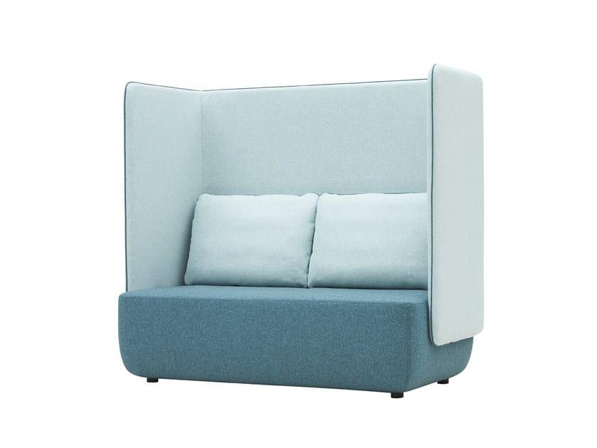 Felt sofa OPERA | 2 seater sofa by SOFTLINE