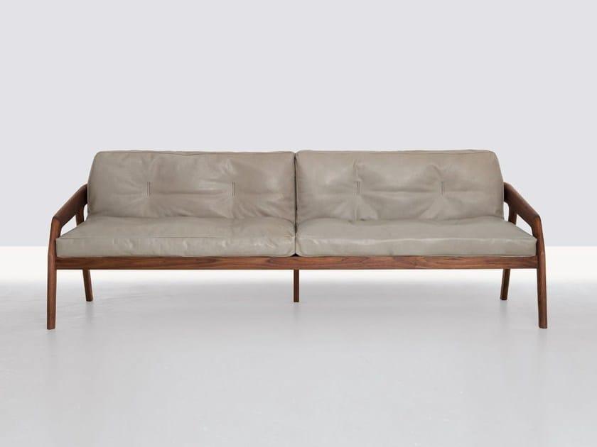 3 seater sofa FRIDAY 3 by ZEITRAUM