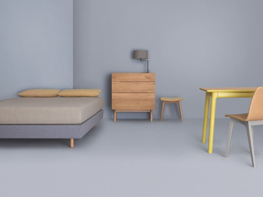 Double bed MIUT BASIC by ZEITRAUM