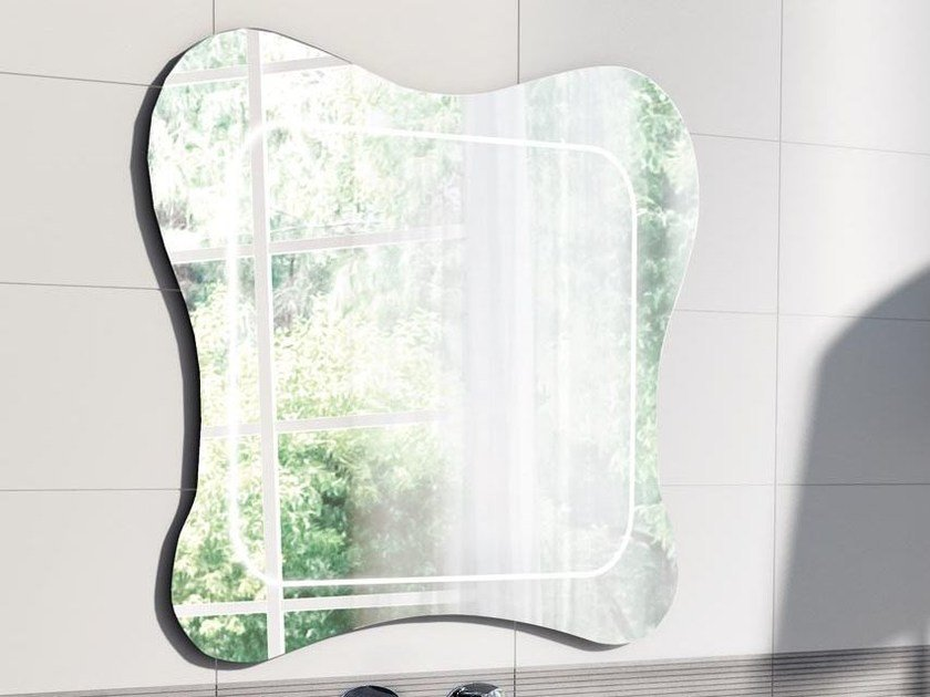Bathroom mirror GAU-131 by LASA IDEA