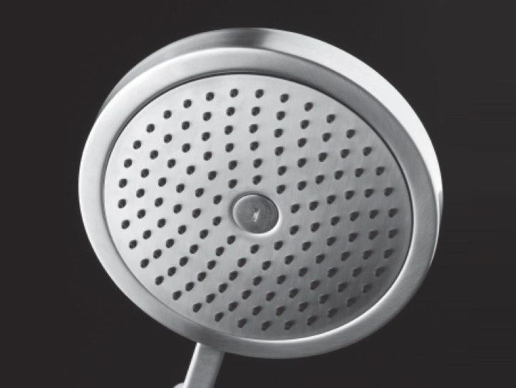 Stainless steel handshower COCOON D3XL by COCOON