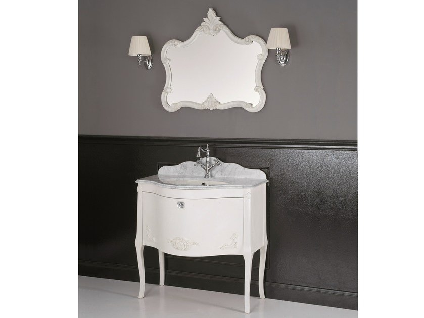 Wooden vanity unit ANIS by BLEU PROVENCE