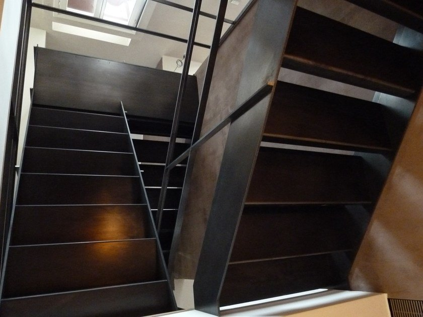 Iron Open staircase Open staircase by YDF